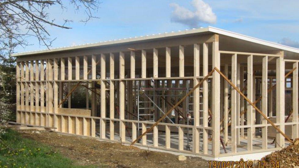 Holzrahmenbau  Kupferschmid Holzbau - Holzrahmenbau