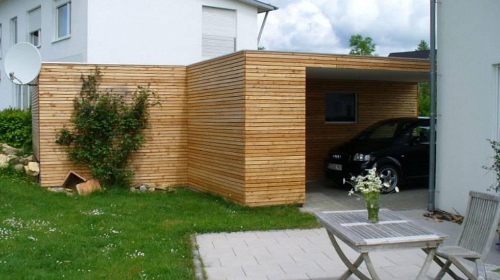 kupferschmid holzbau vord cher carports. Black Bedroom Furniture Sets. Home Design Ideas
