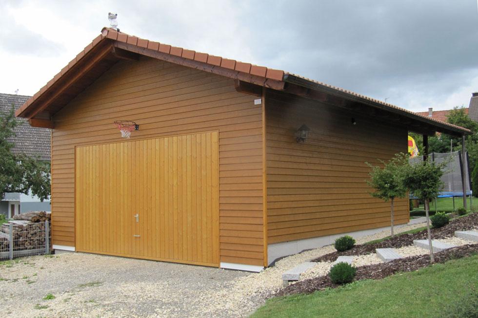 Kupferschmid Holzbau - Vordächer / Carports