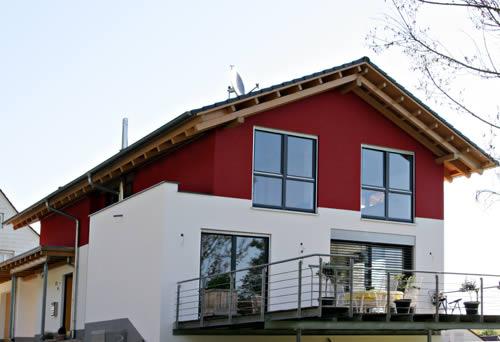 kupferschmid holzbau modernes wohnhaus. Black Bedroom Furniture Sets. Home Design Ideas