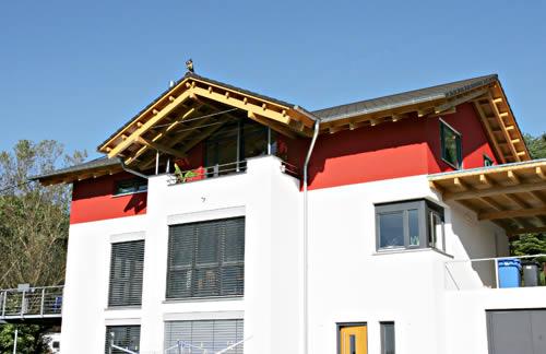 Kupferschmid holzbau modernes wohnhaus for Modernes wohnhaus